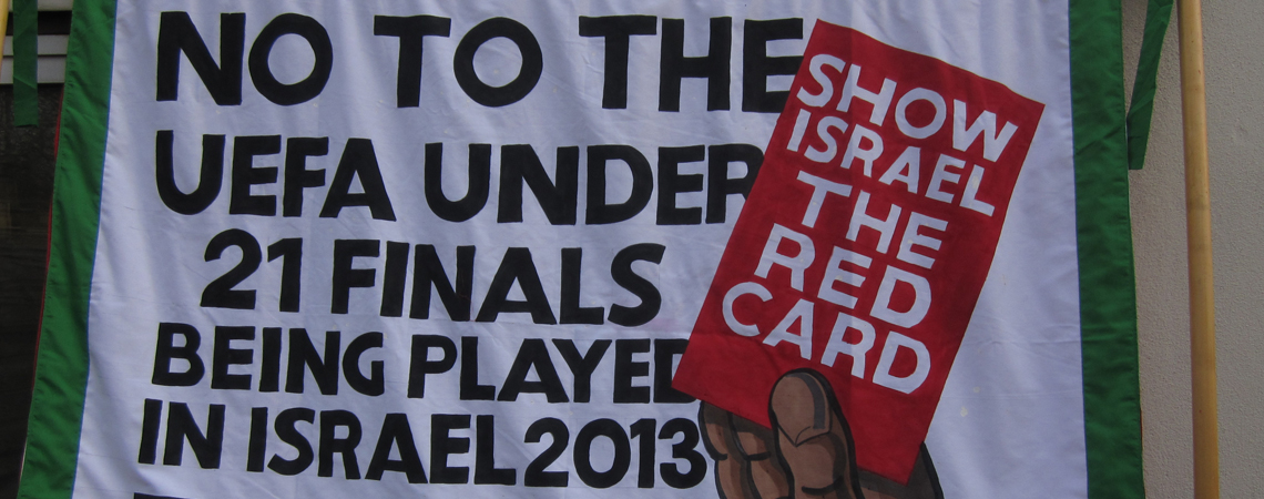 Welcome to the Red Card Israeli Racism campaign