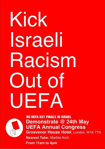 Kick Israeli Racism Out of European Football