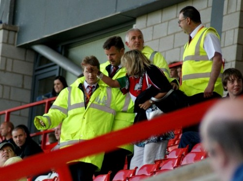Anti Israel Protesters Ejected From Wales Womens Football Game