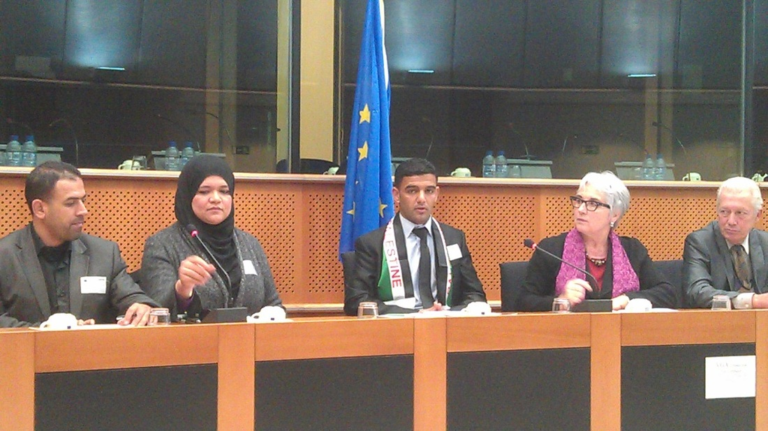 Mahmoud Sarsak in European Parliament