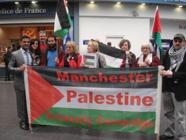 Mahmoud Sarsak in Manchester