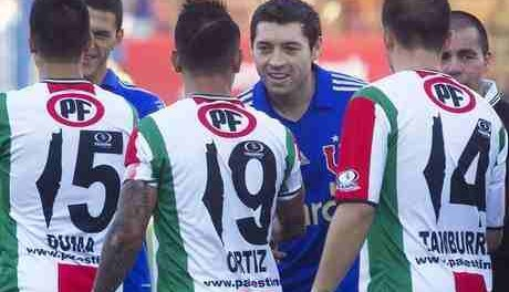 Chilean  football club makes its point on Palestine