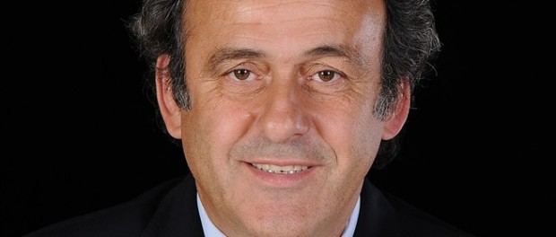 UEFA President Platini appears to take sides against Palestine and for Israeli racism