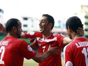 Fawaghra's goal celebration