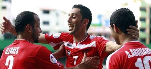 Palestinian victory assures place in the Asia Cup competition in Australia