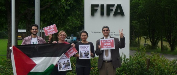 Petition to suspend the Israeli FA submitted to FIFA prior to decisive Congress