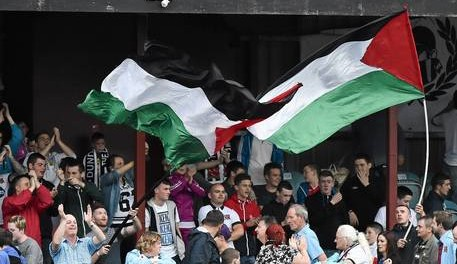 Enormous EUFA fine for flying the Palestinian Flag at Dundalk FC