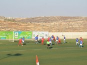 Football field and players 1 Sep 14