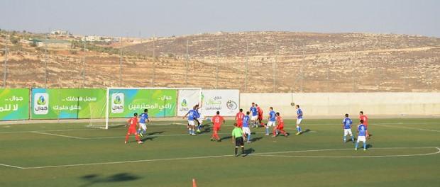 Palestinian football through the penetrating eyes of an Australian journlaist