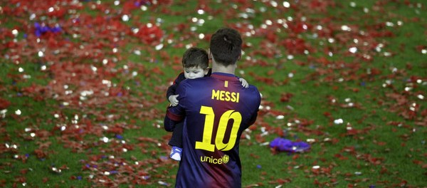 Messi defends rights of Gaza children