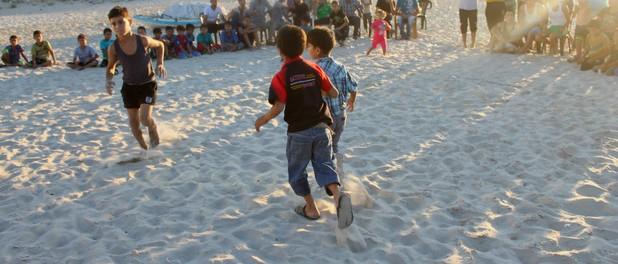 Gaza beach massacre commemorated by child survivors