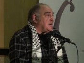 Ronnie Kasrils with PA scarf