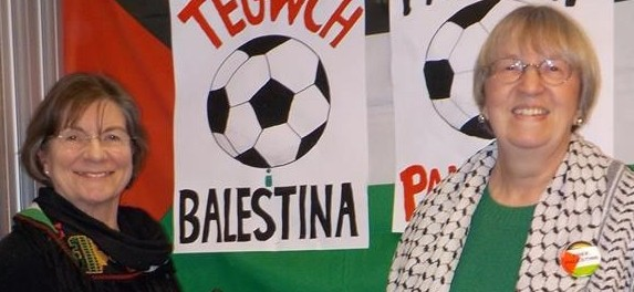 Cardiff kicks off the FAIR PLAY FOR PALESTINE football campaign