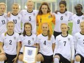 England U 19 team