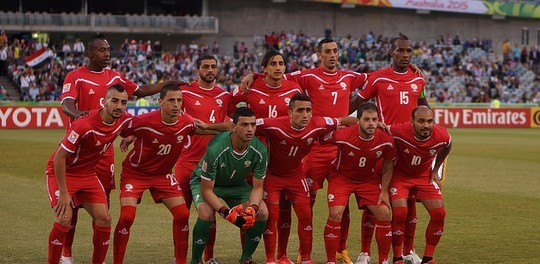 Will the Saudi team enter Palestine on 13 October 2015