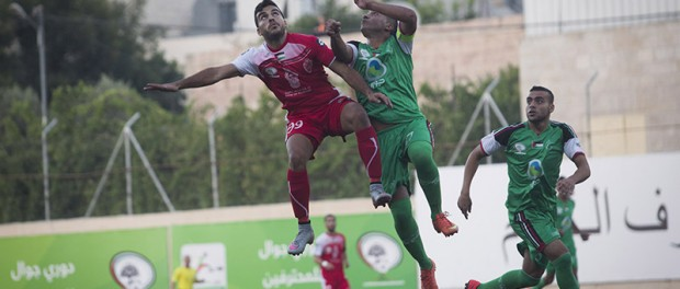 Palestinian Cup finalists harassed for the second year running.  FIFA called in.