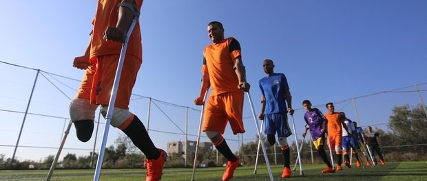 Amputee soccer team a game changer for Gaza wounded