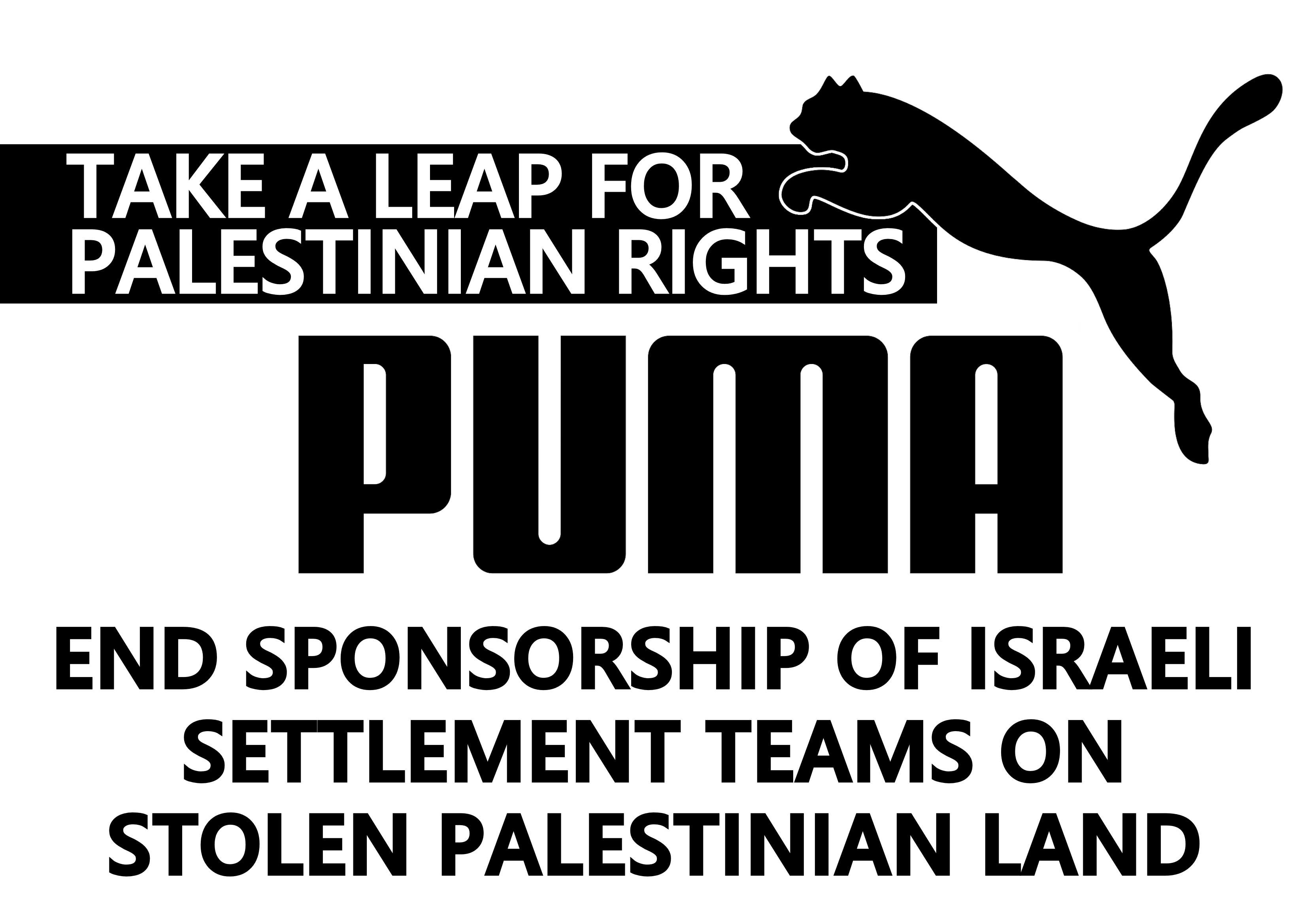 Palestinian sports clubs urge Puma to ditch its sponsorship of the IFA