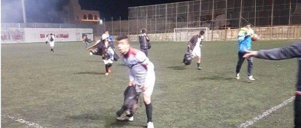 Tear gas closes down Palestinian match in Bethlehem