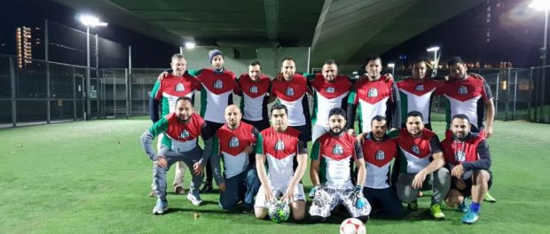 London Palestino AFC team has its first game