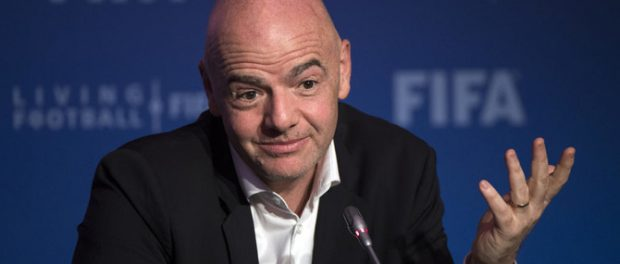 Political duplicity from the FIFA President