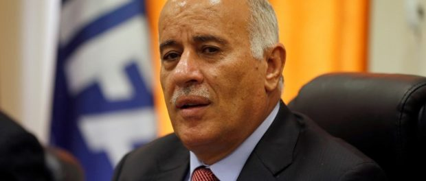 Rajoub: peace and prosperity can only be achieved one way