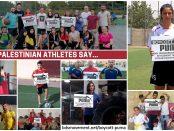 Palestinian athletes say Boycott Puma