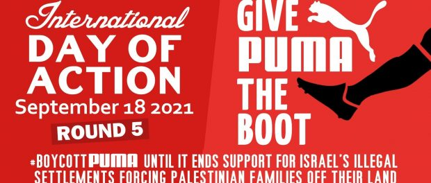 We're making Puma's CEO nervous. Join the 5th Boycott Puma Day of Action